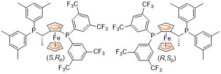 C44H36F12FeP2_1